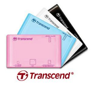 Nowe kolory czytników Transcend P8