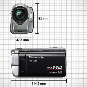 Nowe, małe i lekkie kamery full HD Panasonic - HDC-SD10 i HDC-TM10