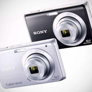 Nowe kompakty Sony - Cyber-shot W180 i Cyber-shot W190