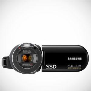 Pierwsza na świecie kamera z pamięcią SSD - Samsung HMX-H105