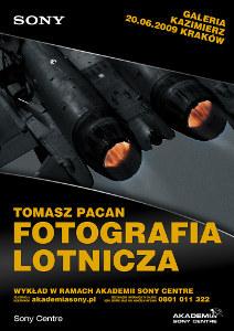 """Wykład """"Fotografia lotnicza"""" w ramach Akademii Sony Centre"""