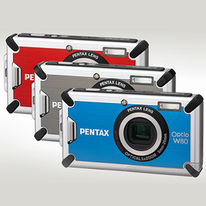 Nowy nurek Pentaxa - Optio W80