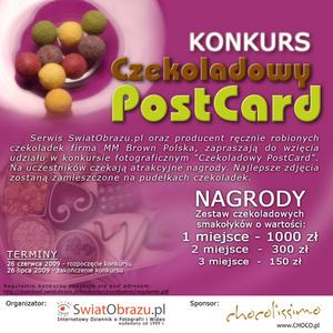"""Konkurs fotograficzny """"Czekoladowy PostCard"""""""