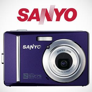 Cyfrówki za 500 złotych - Sanyo VPC-S1275 i VPC-E1090