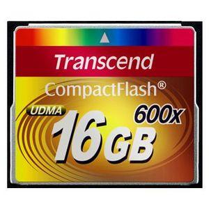Błyskawiczne karty Transcend CF 600x